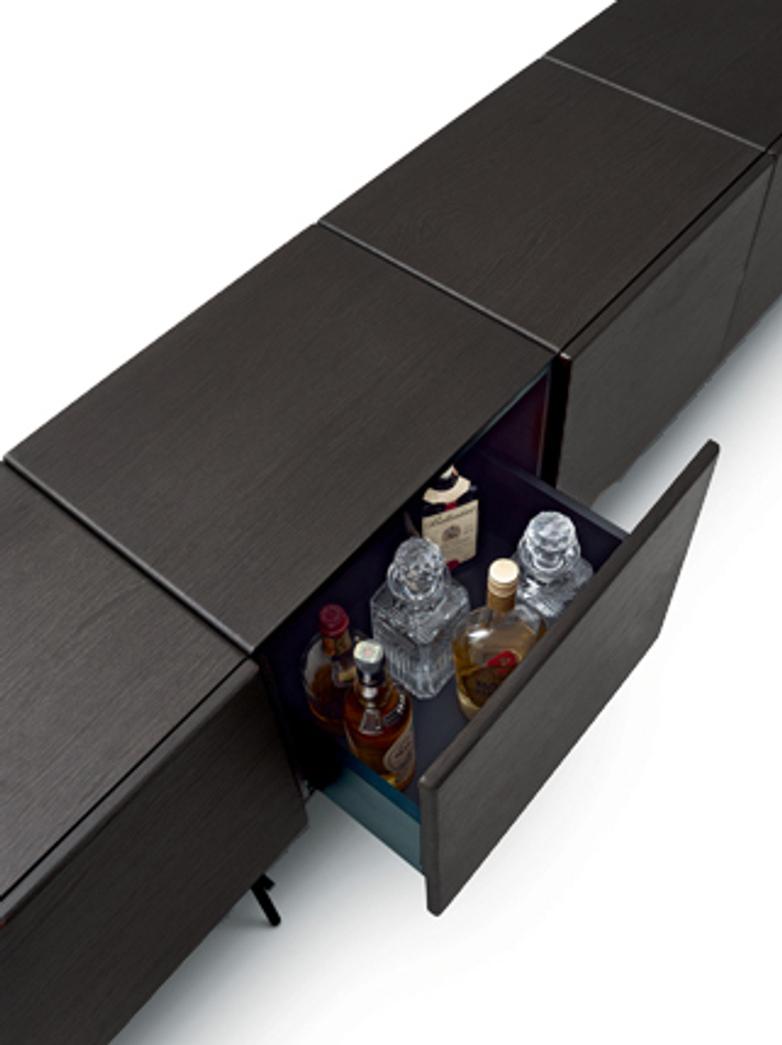 Rubycon Cabinet – 4 Cubes – Wengé