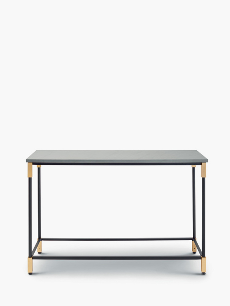 Match Console Table – Quarzite Silver
