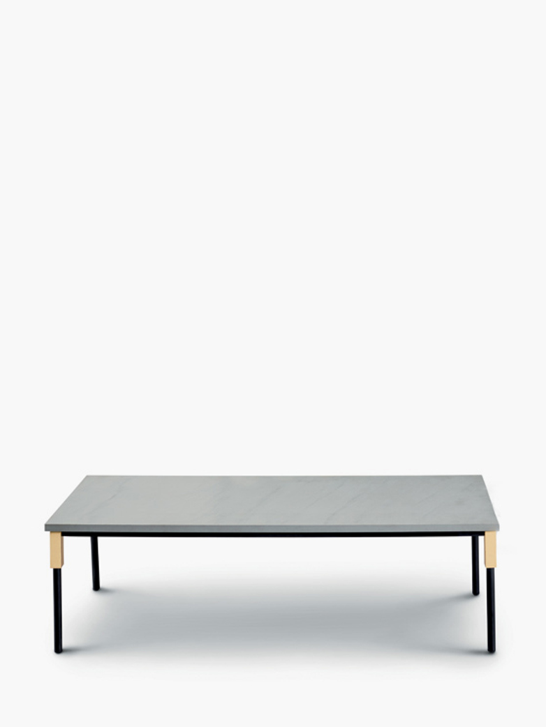 Match Small Table – Quarzite Silver – 42