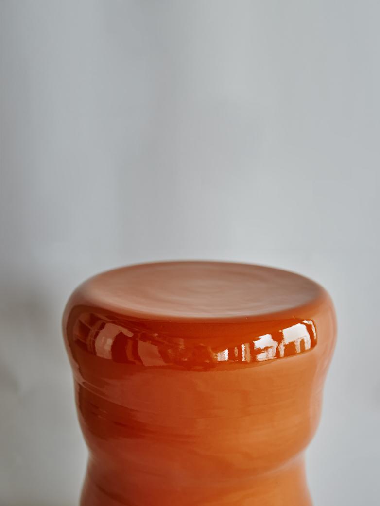 Marie - Organic Stool Rust