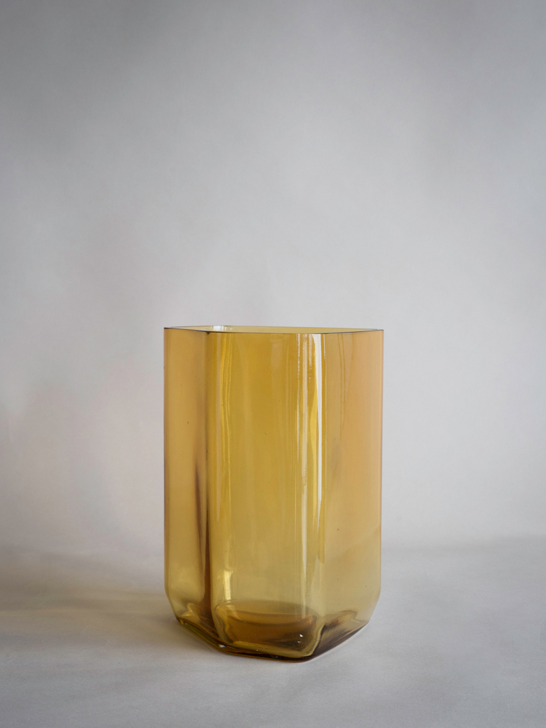 Vase Silex - Yellow