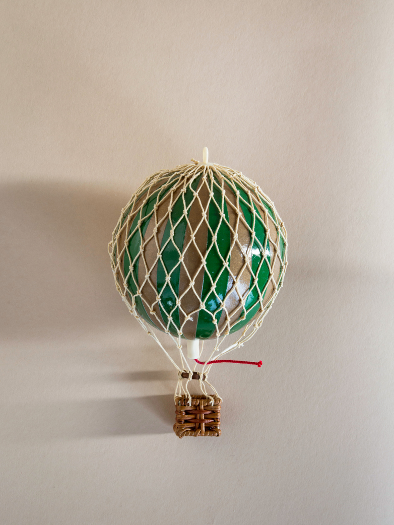 Christmas Balloon – Dark Green/Gold – XS