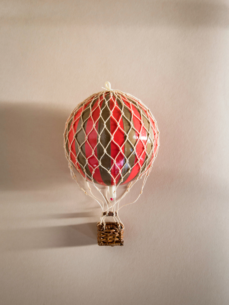 Christmas Balloon – Red/Gold – XS