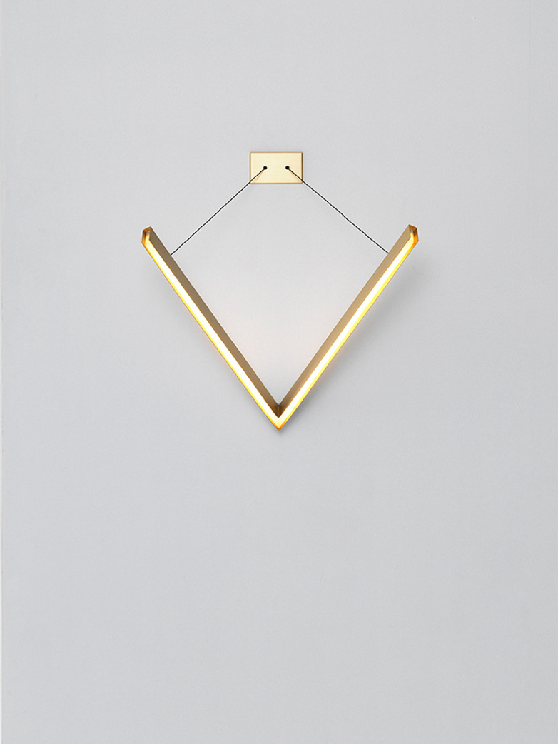 V Wall Light