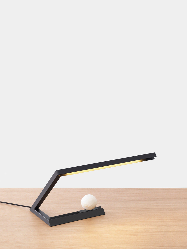Oud Table Lamp – Light Black