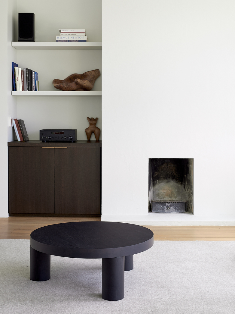 Offset Coffee Table – Black