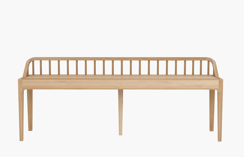 Spindle Bench – Oak