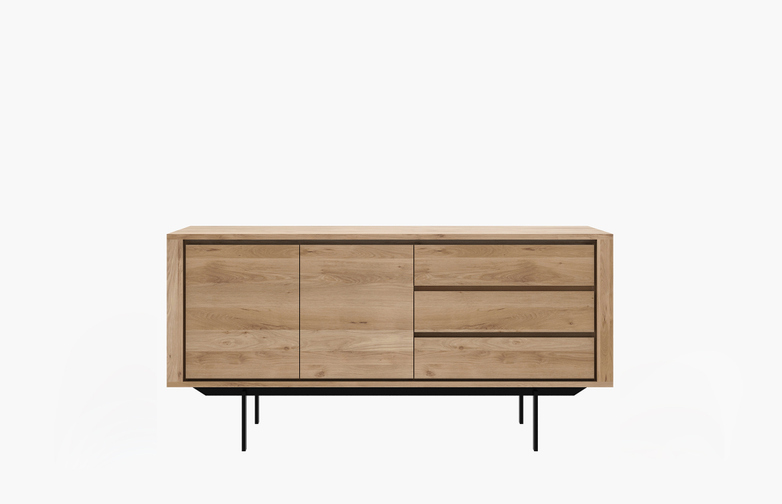 Shadow Sideboard – Black Frame – 2 Doors