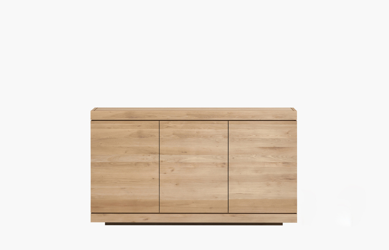 Burger Sideboard – Oak – 3 Doors