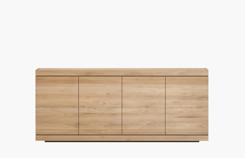 Burger Sideboard – Oak – 4 Doors