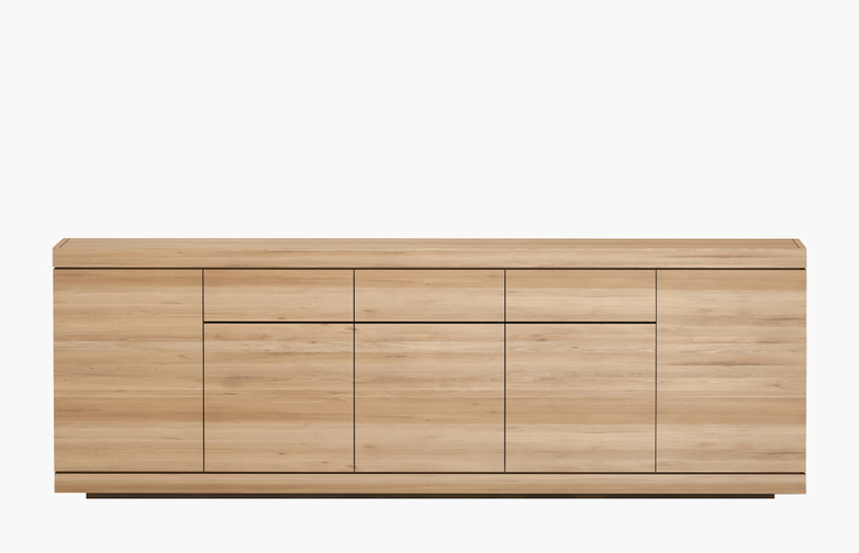 Burger Sideboard – Oak – 5 Doors