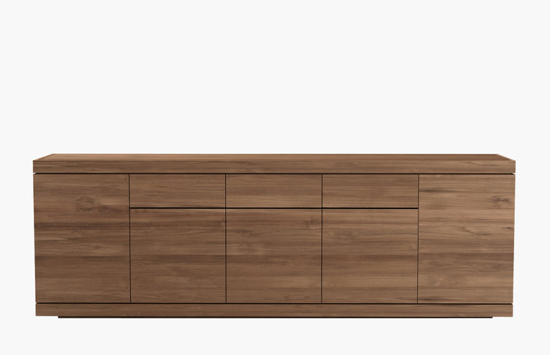 Burger Sideboard – Teak – 5 Doors