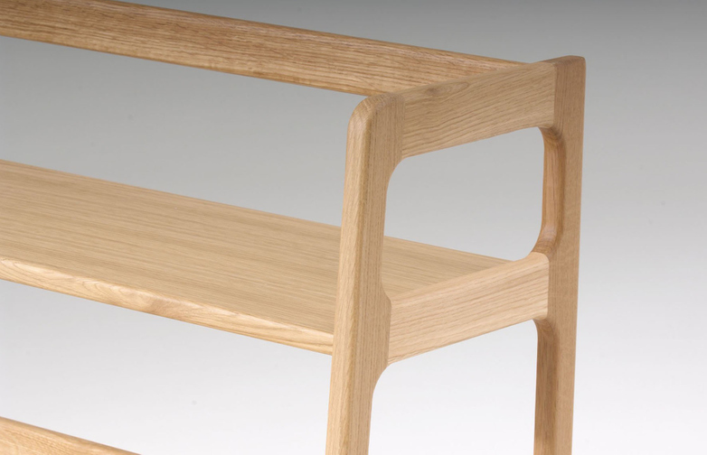 Agnes Shelving High – Oak