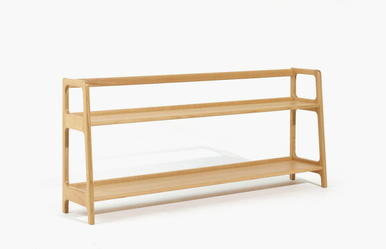 Agnes Long Shelving – Oak