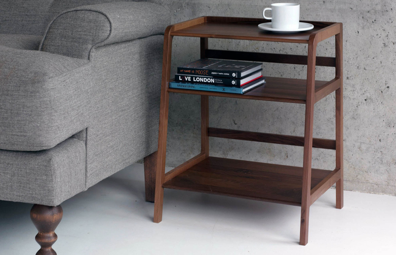 Agnes Side Table – Walnut