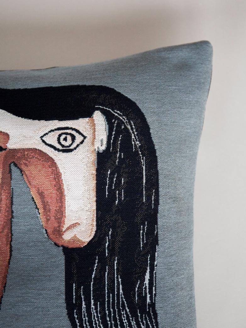 Picasso Cushion – Tete de Femme – 45 x 45
