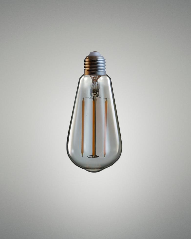 Led Teardrop Bulb - Amber