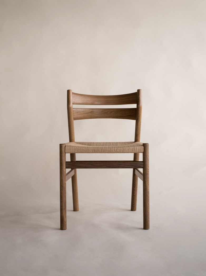 BM1 Chair Børge Mogensen, Smoked Oak