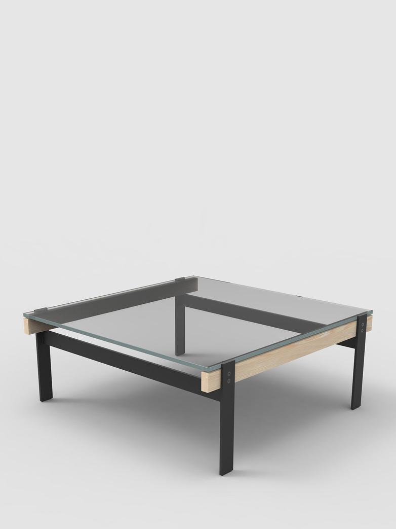 Beam Coffee Table Square – Ash