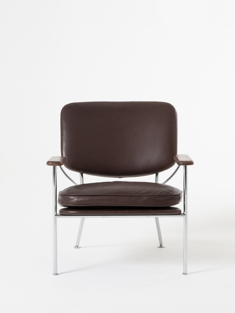 Orlando Armchair – Chrome Frame