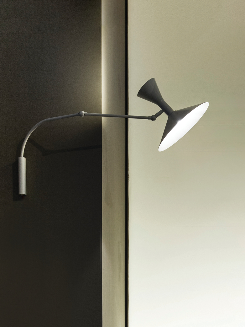 Lampe de Marseille Mini – Grey Matt