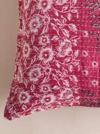 Sari Kantha – Red – 65 x 65
