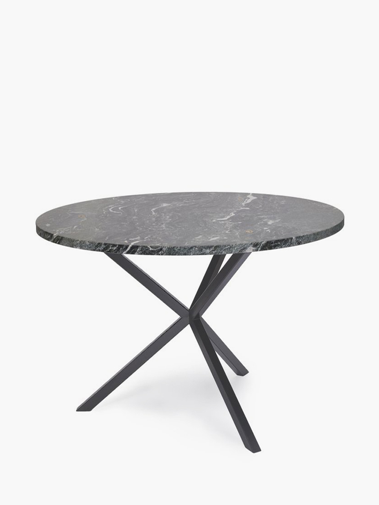 NEB Round Dining Table – Granite/Grey