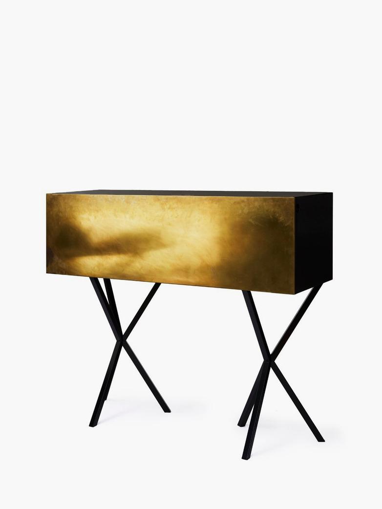 NEB Bureau – Brass/Black