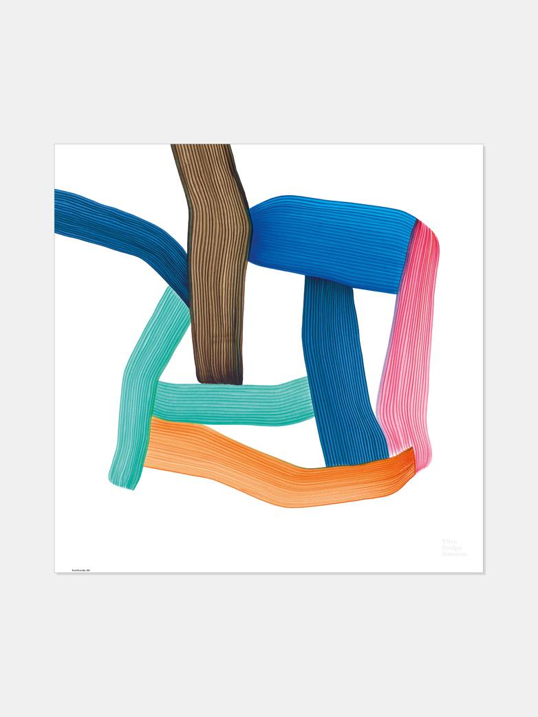Ronan Bouroullec – Multicolor 67,5x67,5 cm
