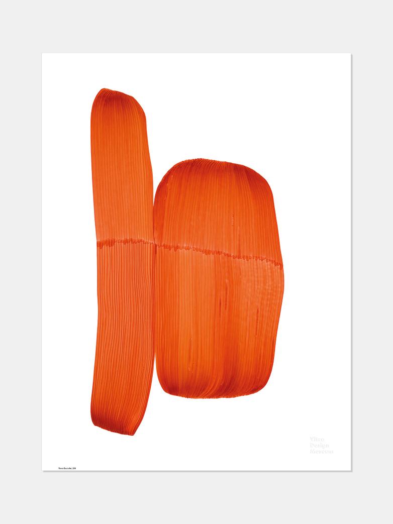 Ronan Bouroullec – Orange 50x67,5 cm