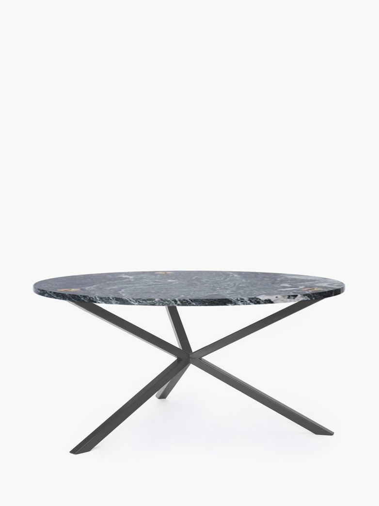 NEB Round Coffee Table – Granite/Grey