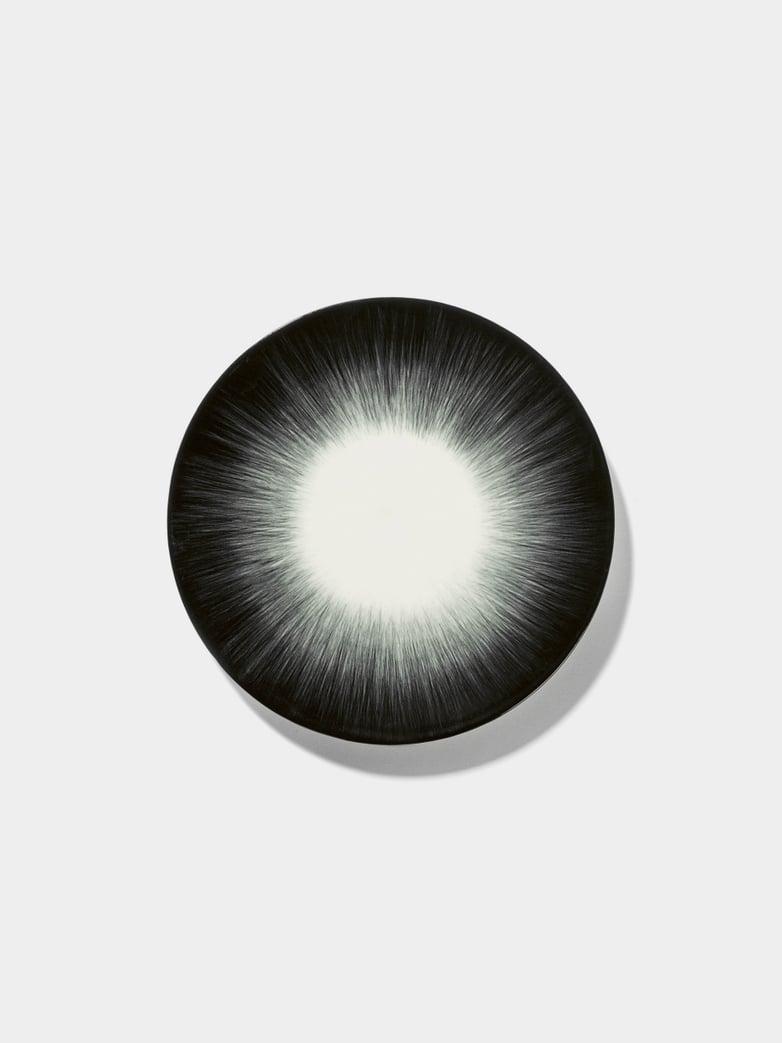 Ann Demeulemeester - Plate 17,5 cm Off White - Black No5