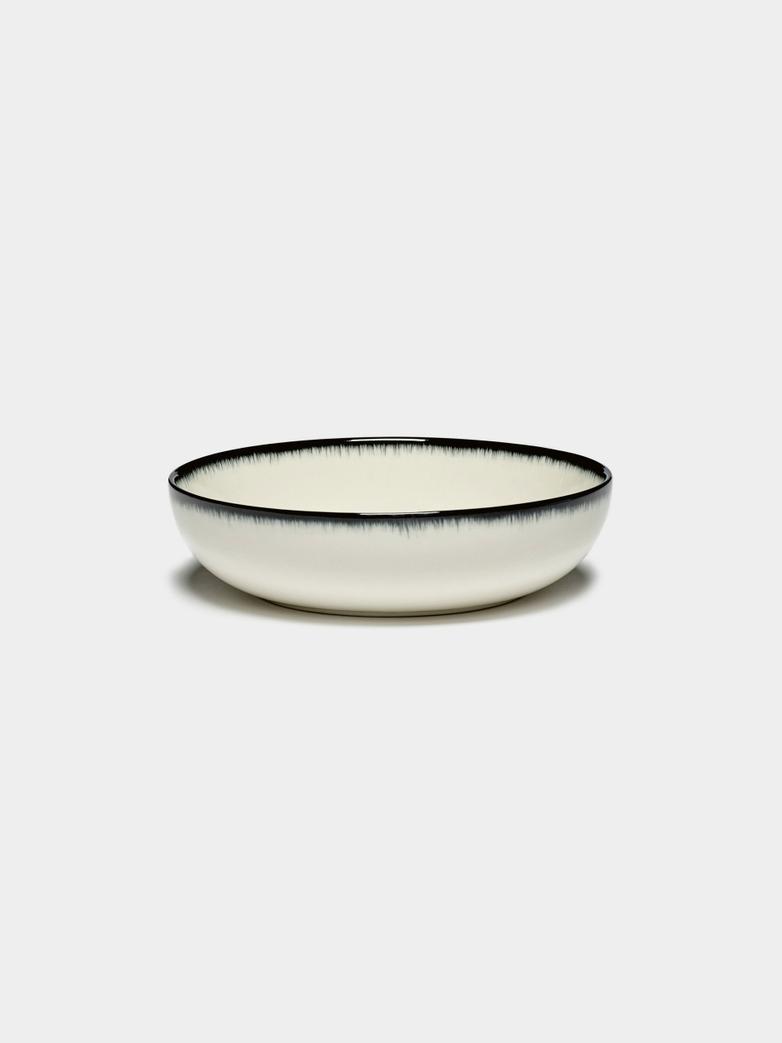 Ann Demeulemeester - High Plate 15,5 cm Off White - Black A