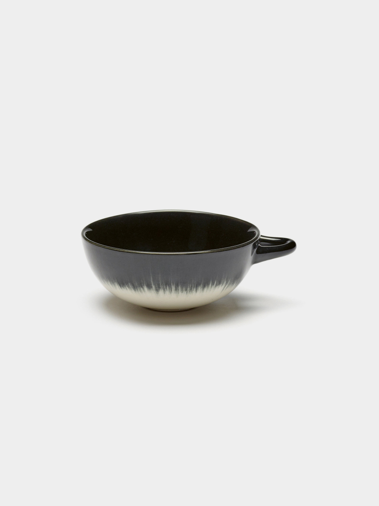 Ann Demeulemeester - Espresso Cup Off White - Black B