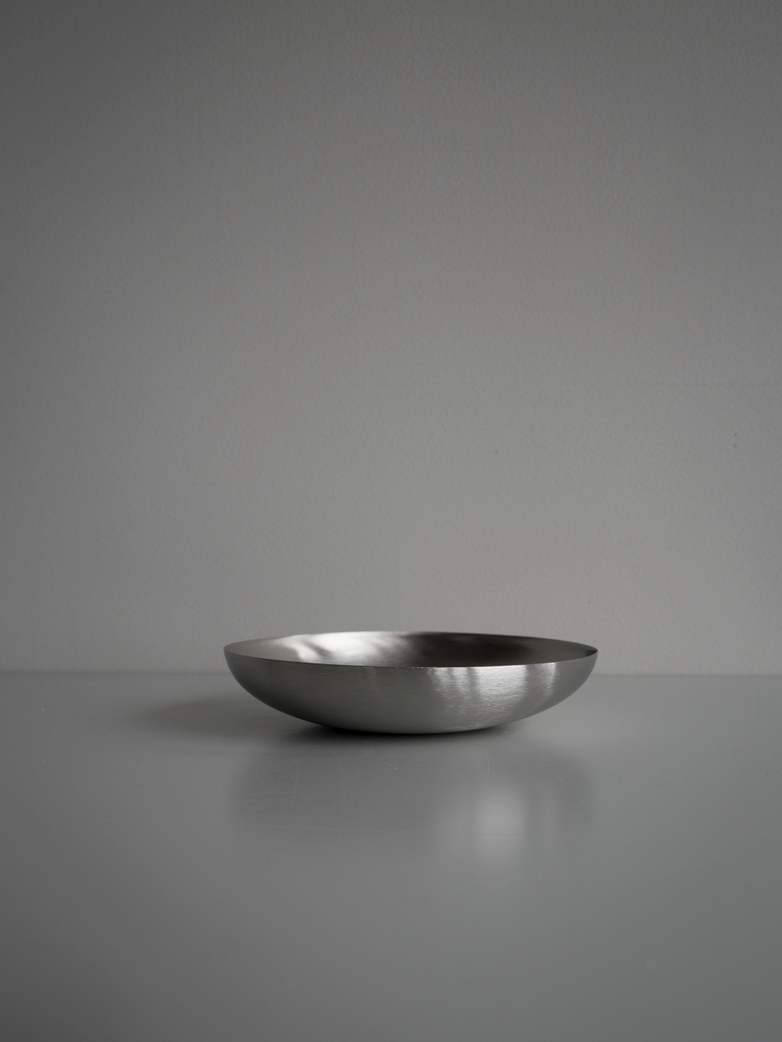 Bowl Brushed Steel - Small