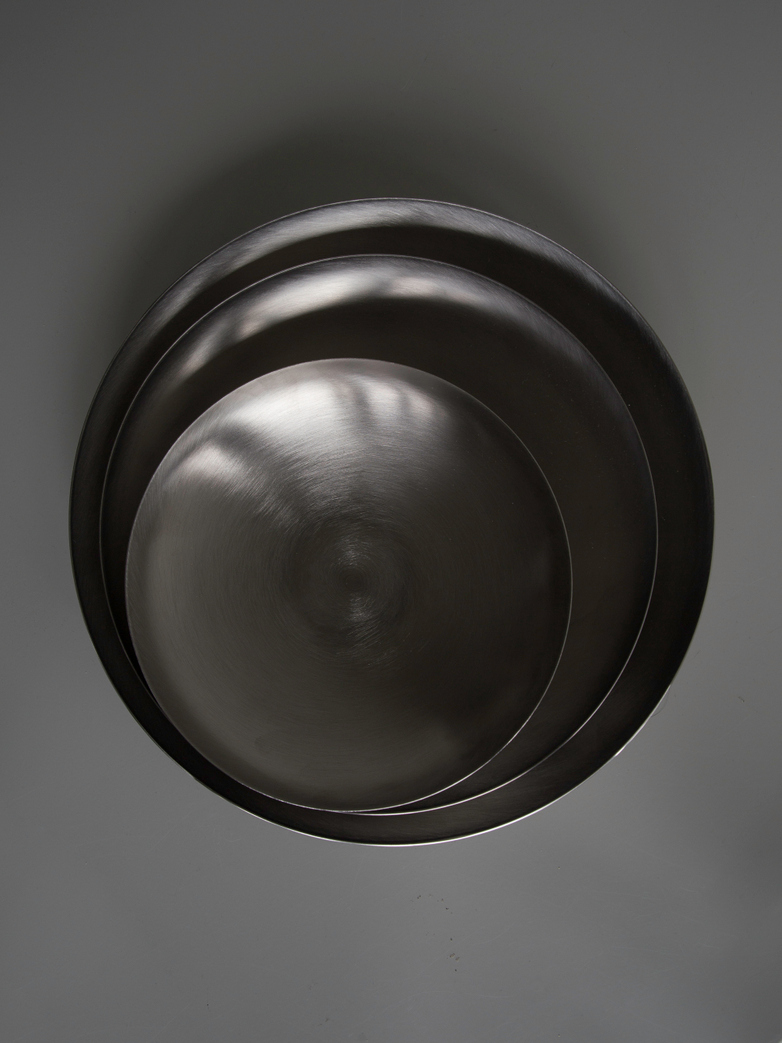 Bowl Brushed Steel - Medium