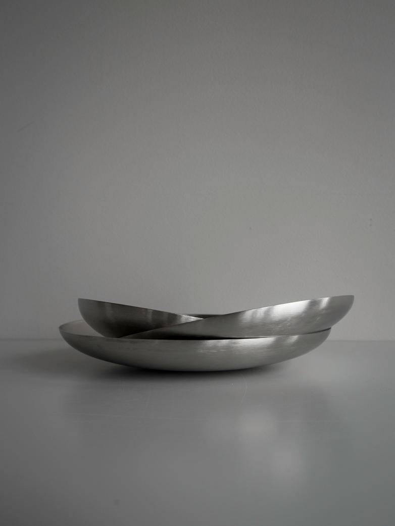 Bowl Brushed Steel - Medium