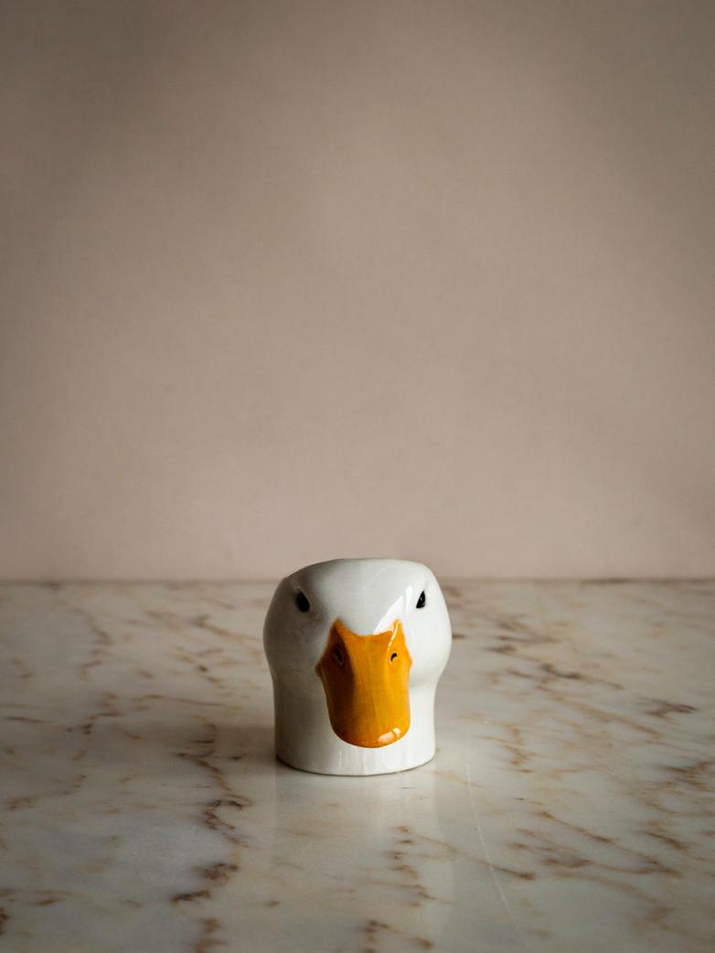 Pekin Duck Face Egg Cup
