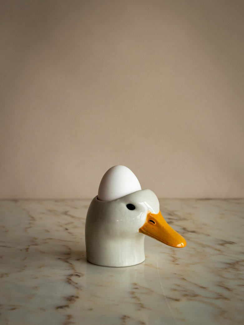 Pekin Duck Face Egg Cup