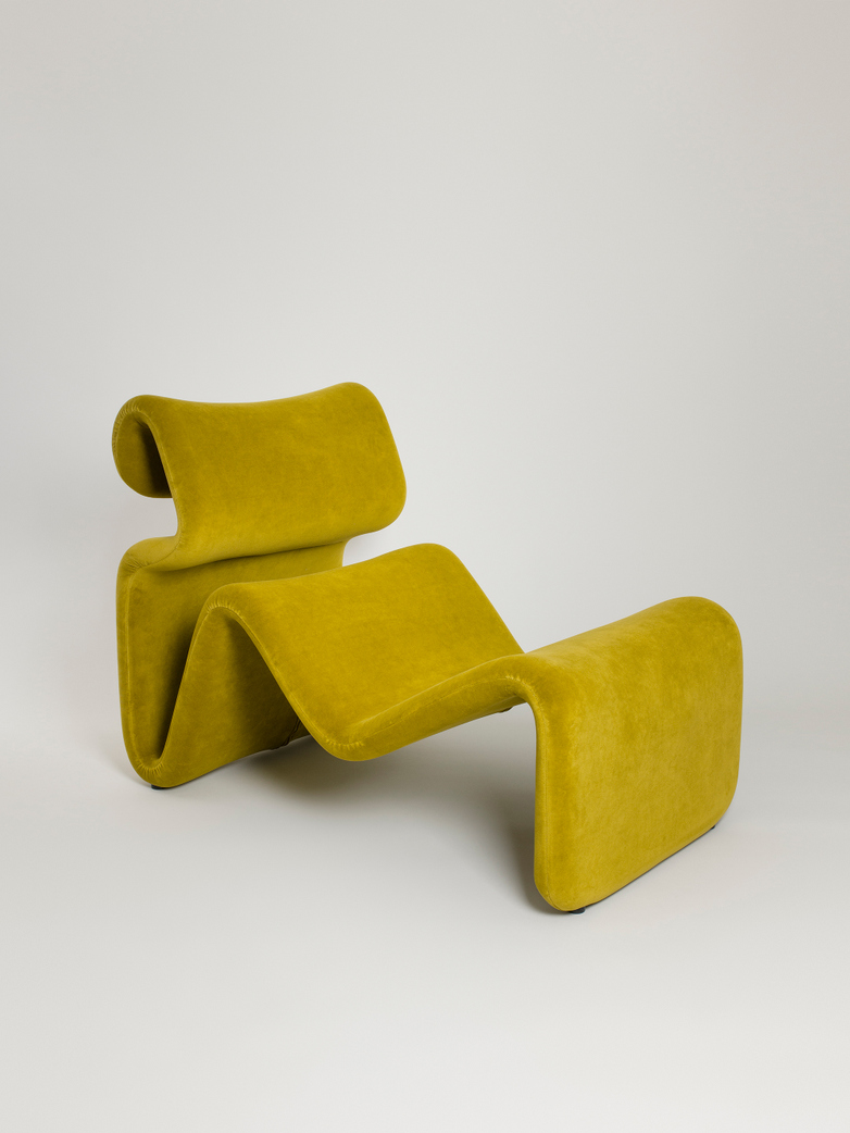 Etcetera Lounge Chair – Turmeric Yellow