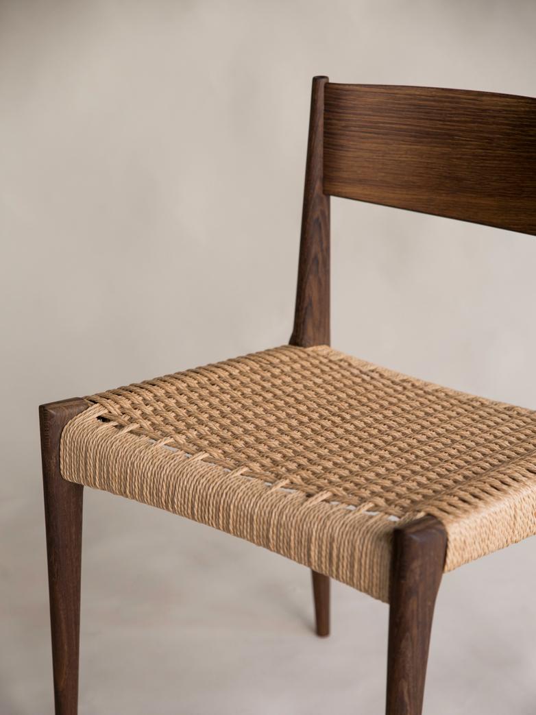 Pia Chair Poul Cadovius Smoked Oak