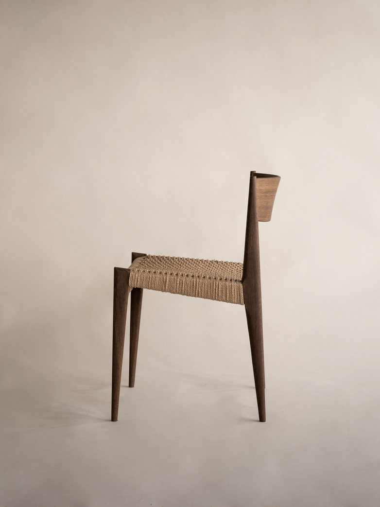 Pia Chair Poul Cadovius Smoked Oak