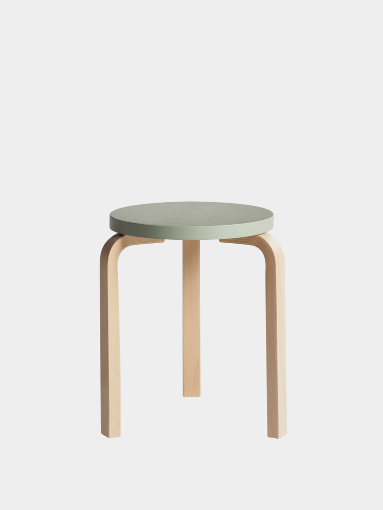 Stool 60 - Birch Green