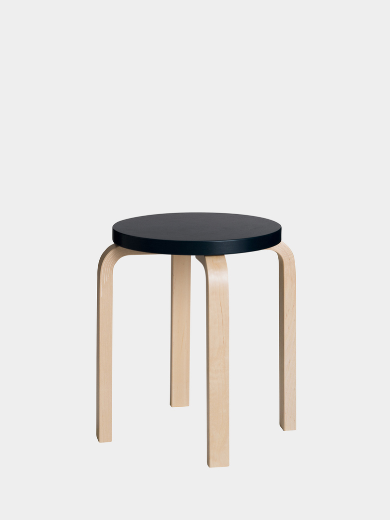 Stool E60 - Birch Black