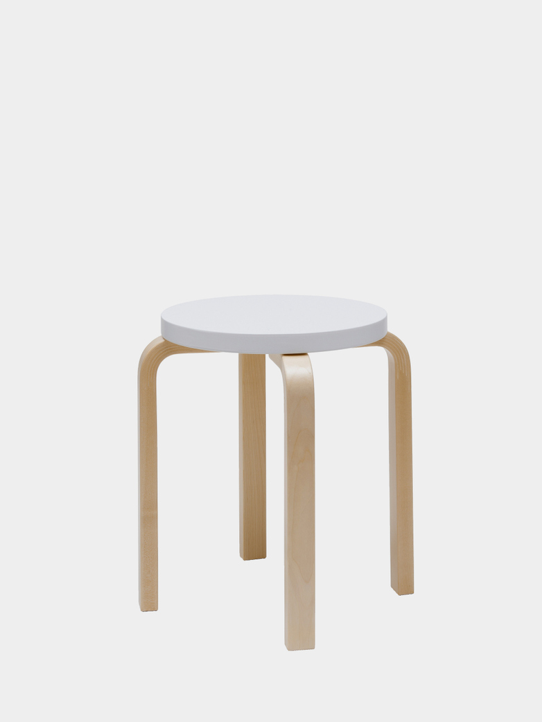 Stool E60 - Birch White