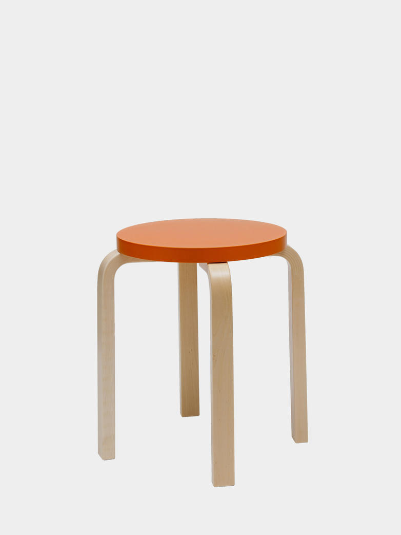 Stool E60 - Birch Orange