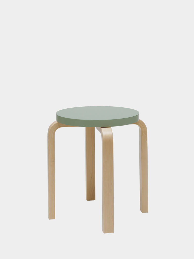 Stool E60 - Birch Green