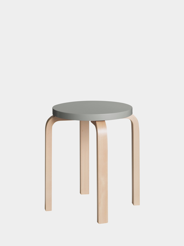 Stool E60 - Birch Grey