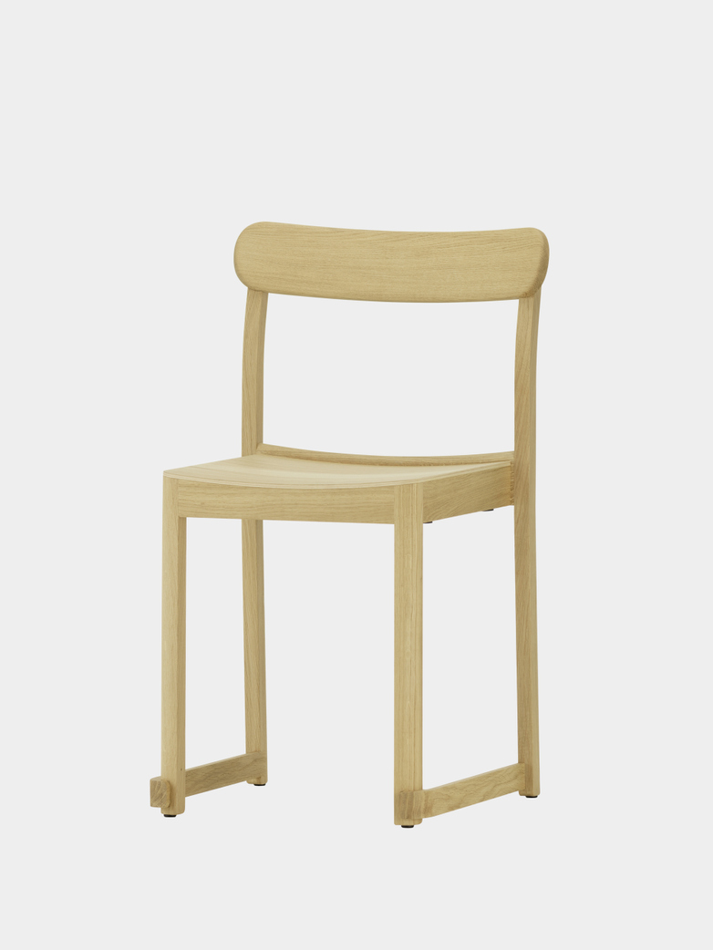 Atelier Chair - Natural Lacquered Oak