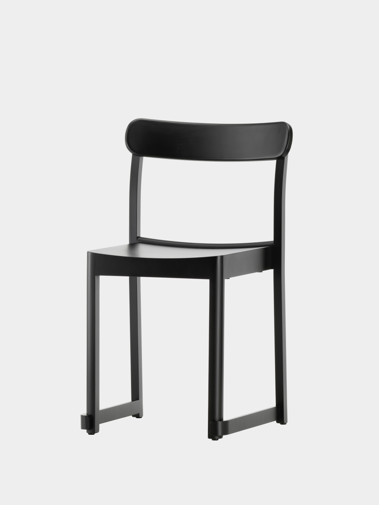 Atelier Chair - Black Lacquered Beech